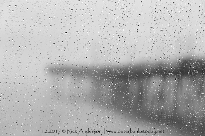 Rainy Day at Avalon Pier