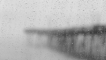 Rainy Day at Avalon Pier
