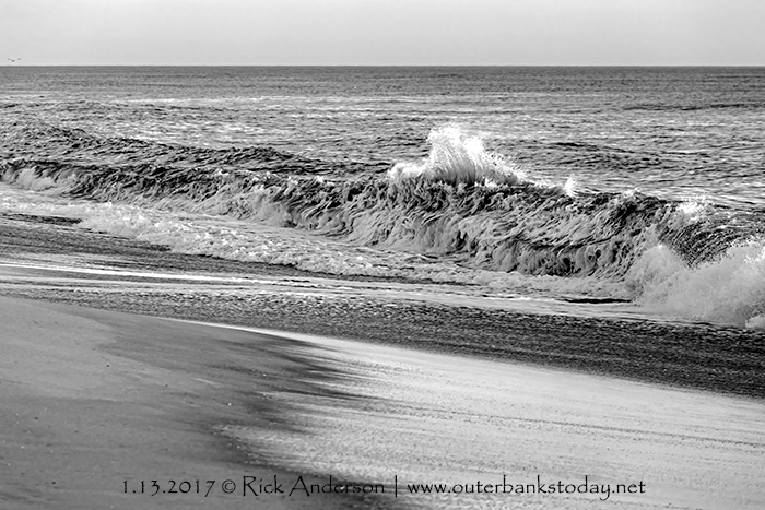 Shorebreak on The Outer Banks
