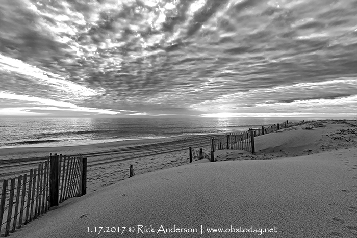 Stratocumulus Clouds at sunrise on the Outer Banks